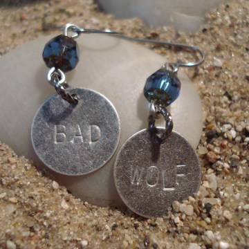 DOCTOR WHO inspired EARRINGS (your choice)