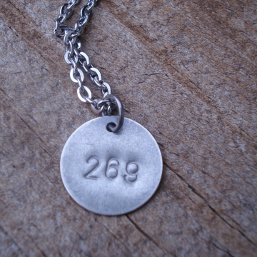 269 Life 269 Calf Awareness Vegan Necklace