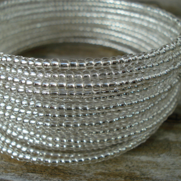 14 Coil Bracelet (diamond clear)