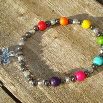 AUTISM MIXED Bracelet (choice of charm)