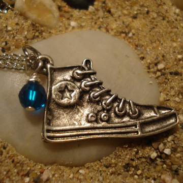 Doctor Who Inspired Sneaker Necklace
