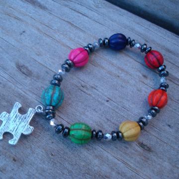 AUTISM MELON Bracelet
