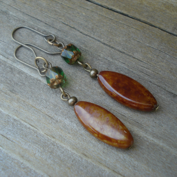 FALL ABUNDANCE earrings