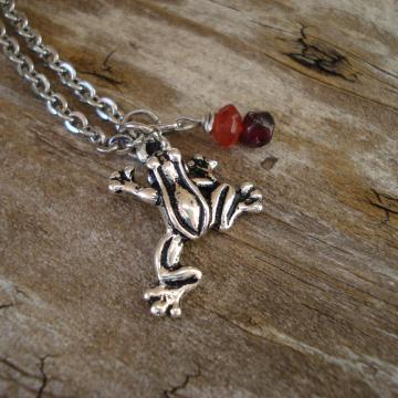 Coqui Frog Necklace