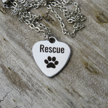 Rescue Charm Necklace