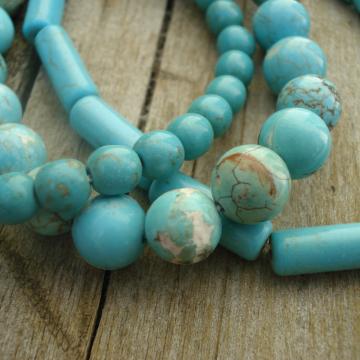 Bracelet Bundle (magnesite turquoise color)