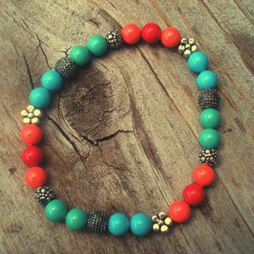 Swarovski Pearl Funky Bracelet