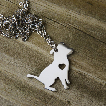 Pittie Charm Necklace